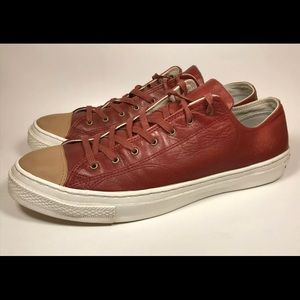 Converse Adult Unisex All Star Leather Low Tops